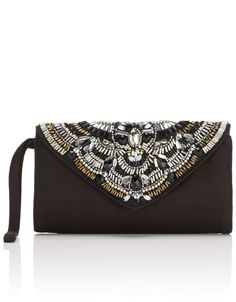 Mini Jewel Envelope Clutch Bag