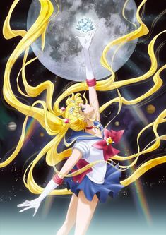 Promo Image for the new Sailor Moon anime, release date July 2014