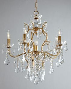 Astrid 6-Light Chandelier at Horchow.