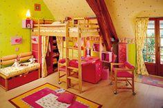 Girls(女の子) | 子供部屋インテリア・家具~フランスで1978年に創業、オーダーメードの子供部屋づくり専門店Vibel(ヴィベル)