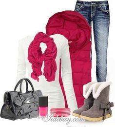 #xmas #gifts #ugg Cute winter outfit