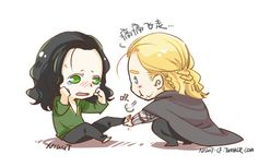 Thor 2 He's not bleeding. It just some berries he stepped on. If you zoom in on right time. Thor Y Loki, Marvel Art, Marvel Dc Comics, Marvel Avengers, Avengers Fan Art, Baby Avengers, Loki Jotun, Baby Loki, Marvel Couples