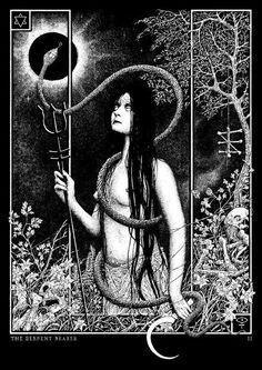 """plarabee: """" The Serpent Bearer by Glyn Smyth … """""""