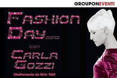 #Groupon #carlagozzi #fashion #eventi
