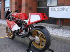 '88 Ducati F1 750 racing bike by loudbike.