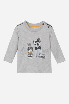 a081576059d2d7 Jean Bourget Pedagogy T-Shirt from Mini Ruby Baby Boy T Shirt, Baby Boys