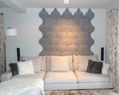 Kreative Wandgestaltung Im Wohnzimmer