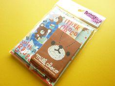 ♥B-day gift from Greivin♥ Kawaii Cute Milk Choco Mini Letter Set Q-LiA (60721)
