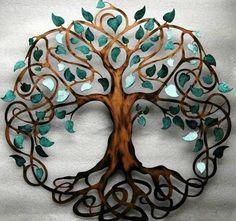 Trendy tree of life wall art diy branches ideas Celtic Symbols, Celtic Art, Mayan Symbols, Egyptian Symbols, Ancient Symbols, Metal Tree Wall Art, Diy Wall Art, Tattoo Life, Tree Of Life Tattoos