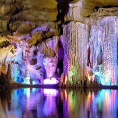 Reed Flute Cave, China - 50 Of The Most Beautiful Places in the World (Part 5) @Annie Compean Compean Keller