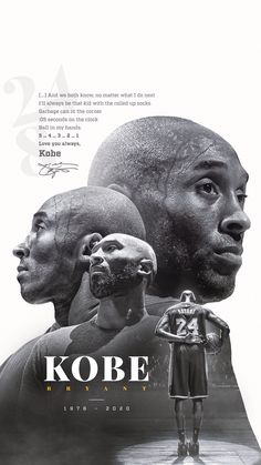 Kobe Bryant - tribute graphic on Behance Kobe Bryant Quotes, Kobe Bryant 8, Bryant Lakers, Kobe Bryant Family, Kobe Quotes, Lebron James Lakers, Lakers Kobe, Famous Basketball Quotes, Mvp Basketball