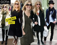 Clémence Poésy is my total Chic Eclectic style crush.  Oh, the French!
