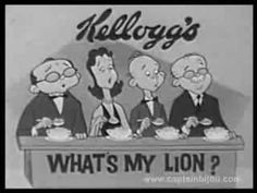 1961 COCOA KRISPIES COMMERCIAL WHAT'S MY LINE SPOOF What's My Line, Line Tv, Vintage Advertisements, Vintage Ads, Cocoa Krispies, Clever Advertising, Commercial Advertisement, Vintage Videos, Old Commercials