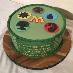 Magic the gathering cake.   Bespoke celebration and wedding cakes and treats