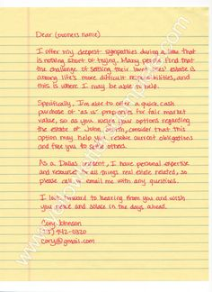 httpyellowletterscompletecomwp contentuploads2008 investor ideasyellow lettersestate