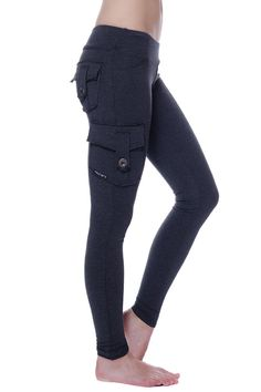 Granite bamboo pocket leggings