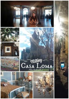 Visiting Casa Loma with Robin Esrock and Ford Canada as part of #BucketListTO
