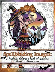 Halloween Adult Coloring Books | Time for the Holidays