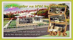 Váš bungalov na kľúč bez starostí?! inford800@gmail.com +421 908 762 654 Vaše vysnívané bývanie - Váš nový domov. Ideálny dom - to je dom bungalov na kľúč v ...