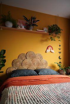 Boho Bedroom Decor, Home Bedroom, Bedroom Wall, Bedrooms, Aesthetic Room Decor, New Room, Home Decor Styles, Room Inspiration, Interior Design