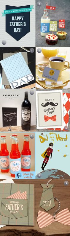 Father's Day Printables:   If you have not found a card yet, you are in luck!! I have searched around to find the best of the best Father's Day Cards that are both free and printable. Throwing dad a party? There are a few party printables listed as well so that you …