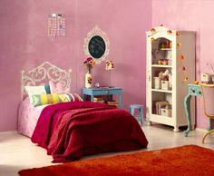 Tytön huone | Lastenhuone - Tikkurila Oyj | Kotimaalarit | Ideat söpöä <3
