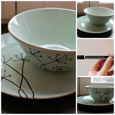 Cute Posts, Ikea, Touch, Plates, Tableware, Creative, How To Make, Crafts, Licence Plates