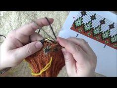 Flere tråder på samme omgang og lange maskesprang - YouTube Crochet Necklace, Playing Cards, Make It Yourself, Knitting, Youtube, Tricot, Playing Card Games, Breien, Stricken