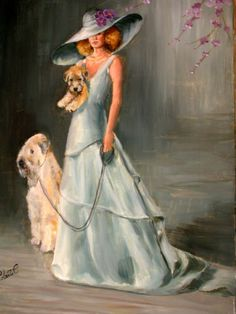 Totally me- classy! Wheaten Terrier Limited Edition Print