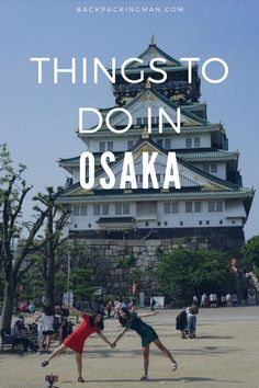 These are some of the best things you can do in Osaka, Japan. I spent 1 month living there and saw a lot of what the city has to offer. #Japan #Osaka Japan Travel Guide, Tokyo Travel, Tokyo Trip, Japan Trip, Universal Studio Osaka, Stuff To Do, Things To Do, Earth City, Osaka Castle