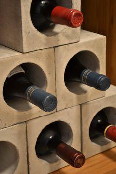 Concrete Wine Bunker by decoratelier