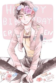 Eren Jaeger ~ Happy Birthday!