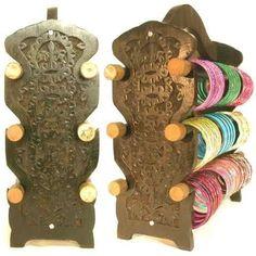 Beachcombers Indian Wood BANGLE STAND Bracelet Display Bar Handmade Wooden Jewelry Rack Beachcombers!, http://www.amazon.com/dp/B0071MGMM0/ref=cm_sw_r_pi_dp_zLrnqb1E8H7PY