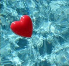 floating heart........