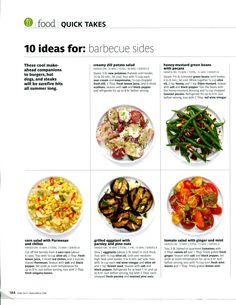 Barbeque sides - RealSimple - part 1