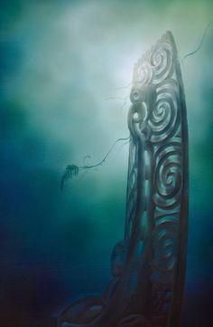 Sofia Minson, The Resting Place. I wish it was mine! Abstract Sculpture, Sculpture Art, Metal Sculptures, Bronze Sculpture, Maori Legends, Maori Patterns, Polynesian Art, Maori Designs, Tiki Art