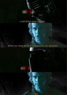 Picture memes by 194 comments - iFunny :) Anakin Vader, Darth Vader, Anakin Skywalker, Star Wars Dark Side, Amour Star Wars, Star Wars Jokes, Funny Star Wars, Prequel Memes, Star Wars