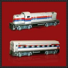 This train paper model is a tourist express Locomotive with carriage in São Paulo, the papercraft created by original site. You can download the template h