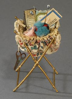 French doll's sewing basket!