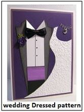 Prom or wedding card from Valita's Designs and Fresh Folds of Australia