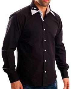 Интересный воротник у рубашки
