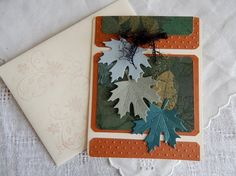 Handmade Thanksgiving Card: complete card by balsampondsdesign