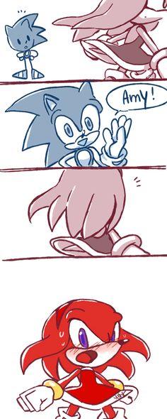 Knuckles be like: SURPRISE MOTHERFUCKER!!!!!
