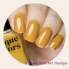 Urbanized is a spicy mustard yellow creme nail polish. Our creme polishes feature a smooth, high quality formula for ease of use and long lasting wear. Opaque in 2 coats. All Cirque Colors products are non toxic, 10 free, vegan and cruelty free. Yellow Nail Polish, Yellow Nail Art, Nail Polish Colors, Yellow Nails Design, Halloween Nail Art, Nail Decorations, Vegan, Natural Nails, Beauty Nails