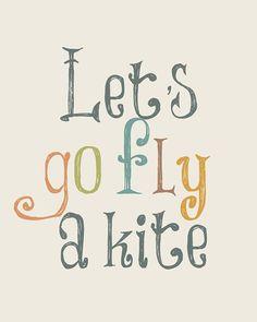 Mary Poppins - Let's Go Fly a Kite