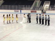 My Hockey wedding