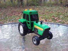 Ertl Tractor Diecast Electronic Farm Machines Vehicle Toy #2858 #Ertl