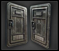 ArtStation - Goldeneye Reloaded Doors, Mark Ranson