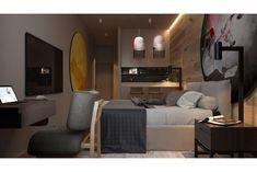 title Hotel Corridor, Sofa, Couch, Interior Design, Bedroom, Mini, Furniture, Interiors, Home Decor