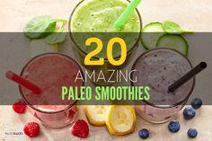 20 Amazing Paleo Smoothies